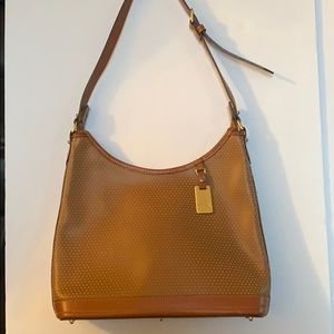 Dooney and Bourke vintage perforated handbag